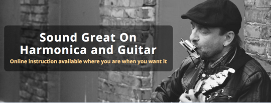 Free online harmonica and guitar courses